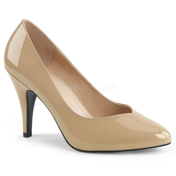 DREAM-420 Klassische Pumps nude Lack
